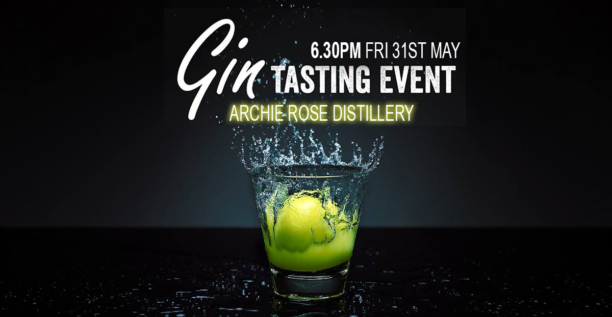 archie rose tasting event